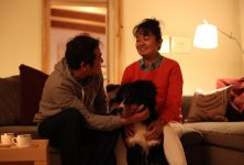 愛犬スフレと共に暮らす家