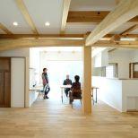 木のやさしさに包まれた北欧スタイルの家