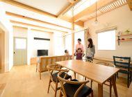 省エネ+創エネで大満足! カフェ風のお洒落な木の家